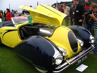 Darracq/Talbot-Lago T150C Figoni & Falaschi cabriolet