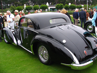 Bugatti T57 Paul Nee Pillarless Coupe