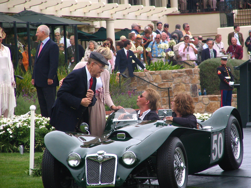 "Phil Hill Cup Winner -- 1954 MG R2 ""Flying Shingle"" Ken Miles Roadster"