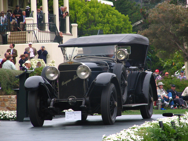 Alec Ulmann Trophy Winner -- 1921 Hispano-Suiza H6B Chavet Torpedo