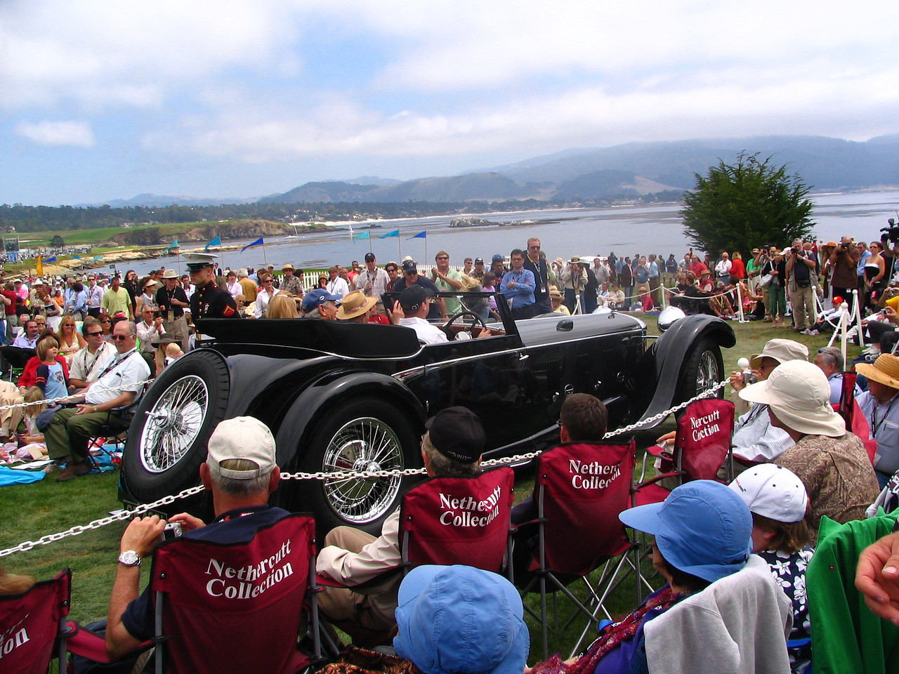 Class J-2, European Classic 1925-1935 Open Early, Winner -- 1931 Daimler Double-Six 50 Corsica Drophead Coupe