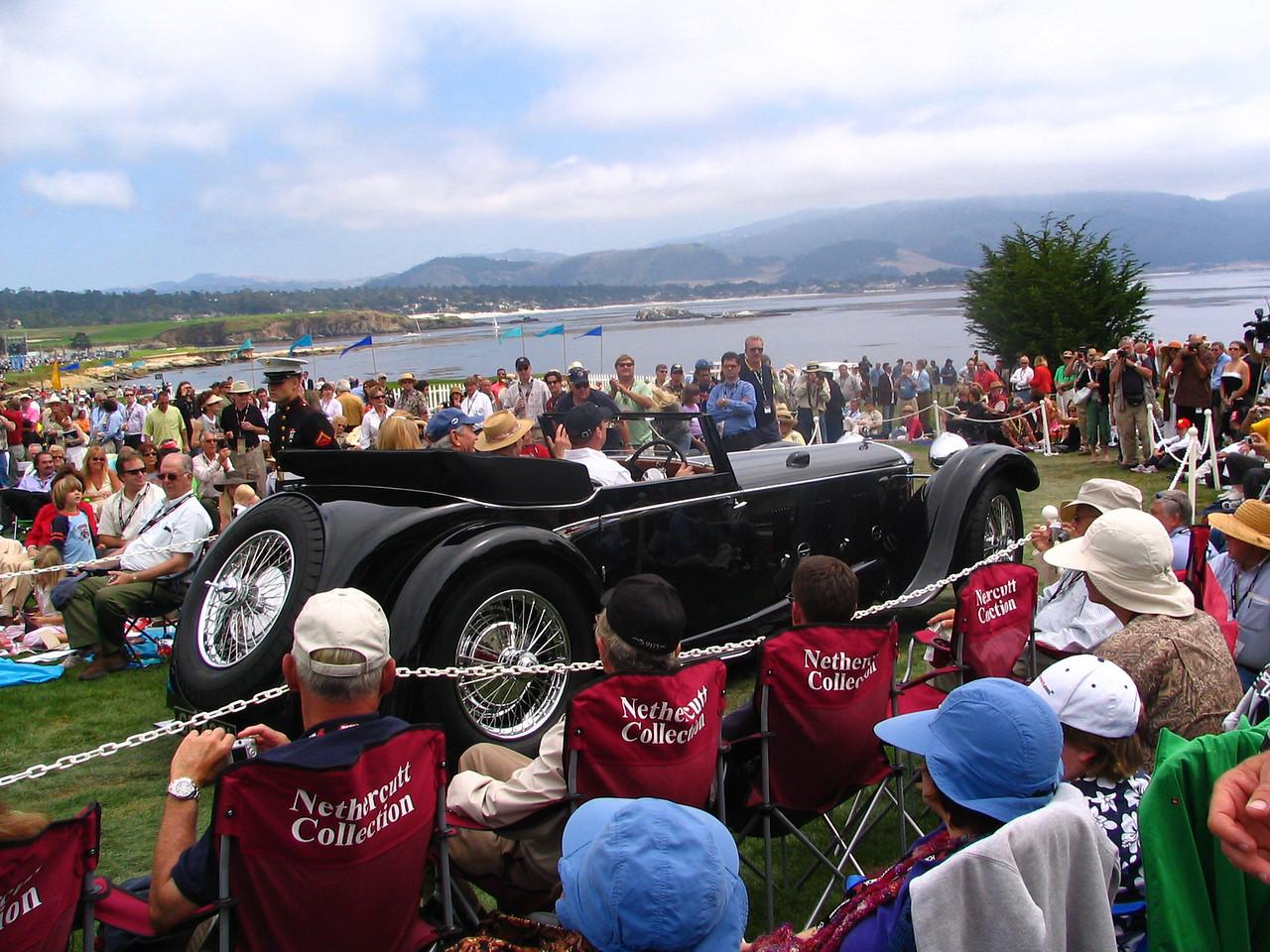Class J-2, European Classic 1925-1935 Open Early, Winner -- 1931 Daimler Double-Six 50 Corsica Drophead Coupe