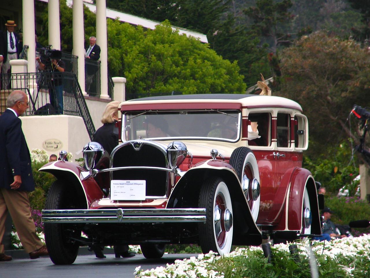 Class D, American Classic Closed 1925-1941, Winner and Classic Car Club of America Trophy winner -- 1930 Ruxton Sedan