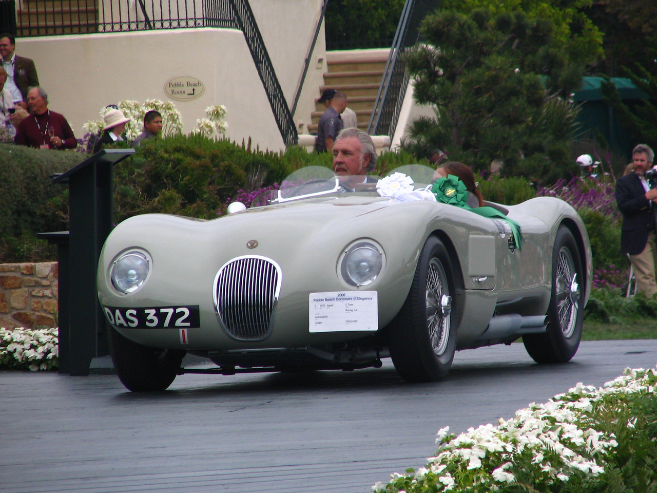 Class S, Postwar Sports and Racing, 3rd Place -- 1952 Jaguar C-Type Racing Car