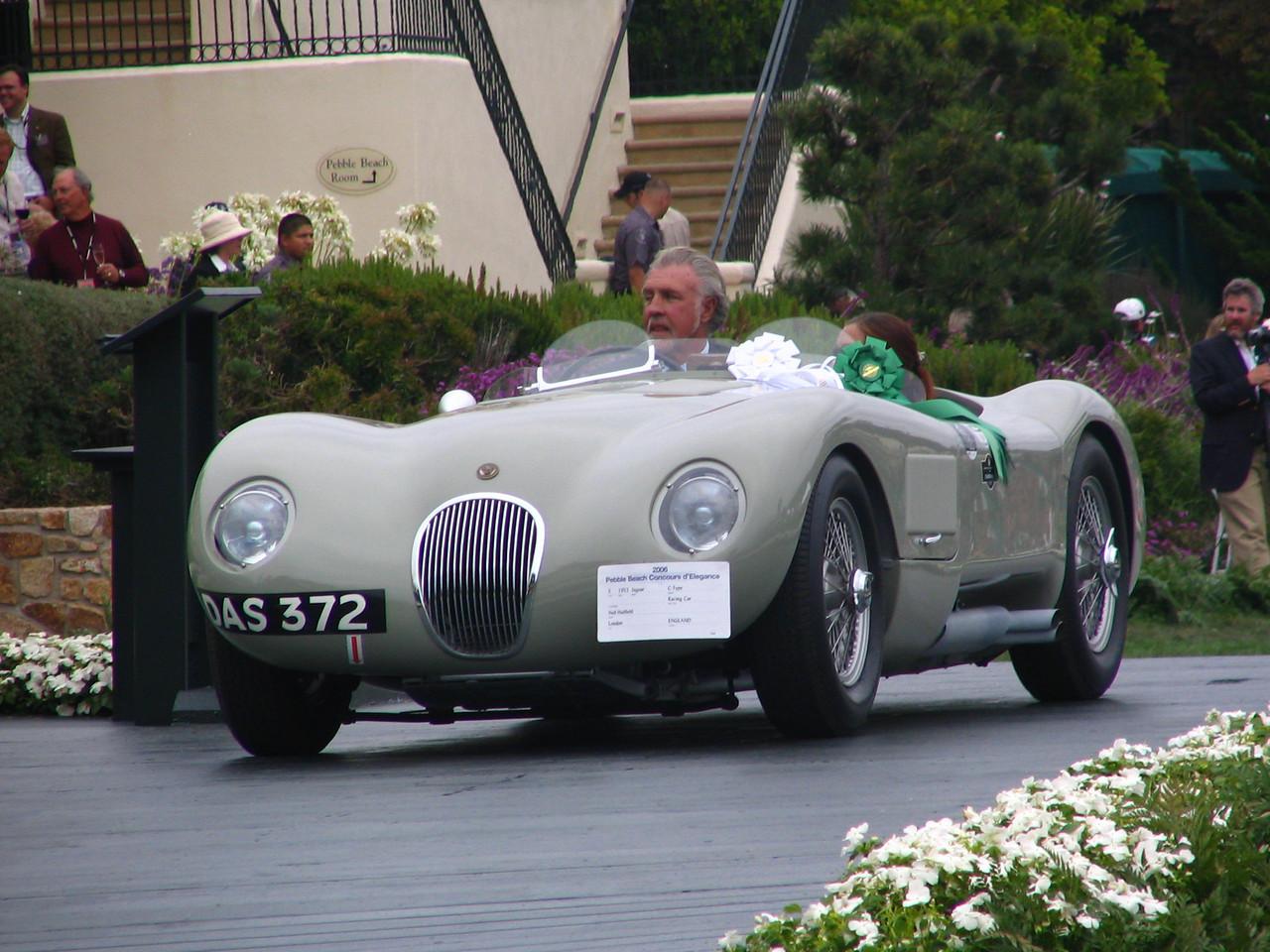 Class S, Postwar Sports and Racing, 3rd Place -- 1952 Jaguar C-Type Racing Car