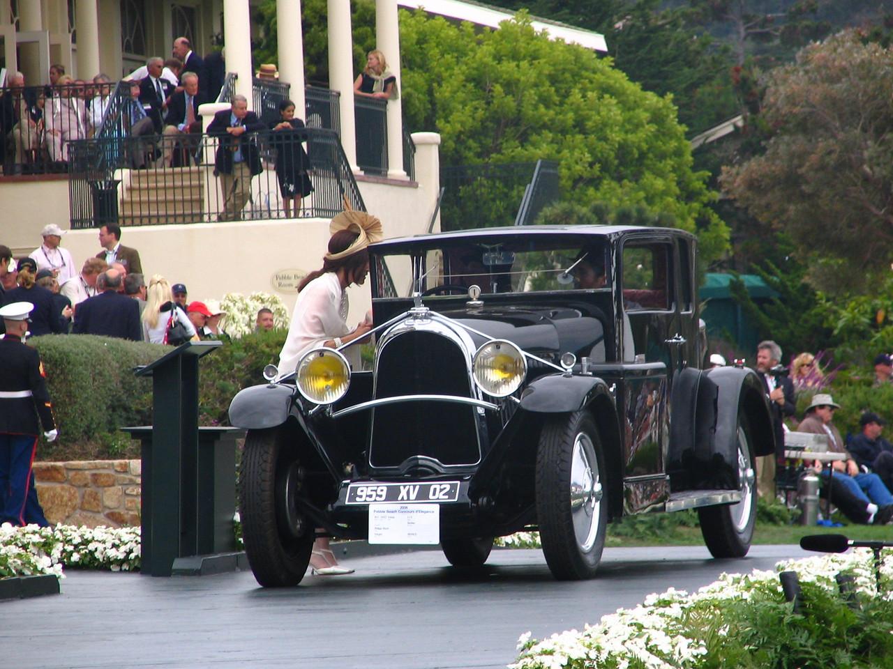 Class N-1, Voisin Early 1927-1933, Winner -- 1932 Voisin C14 Berline