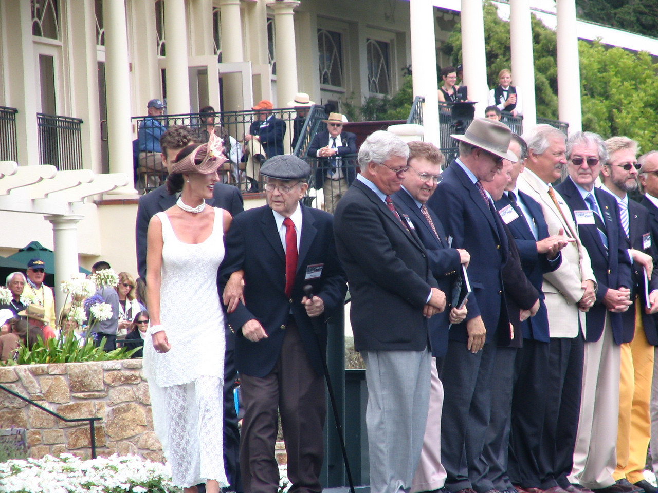 Pebble Beach Concours Honorary Judge Phill Hill