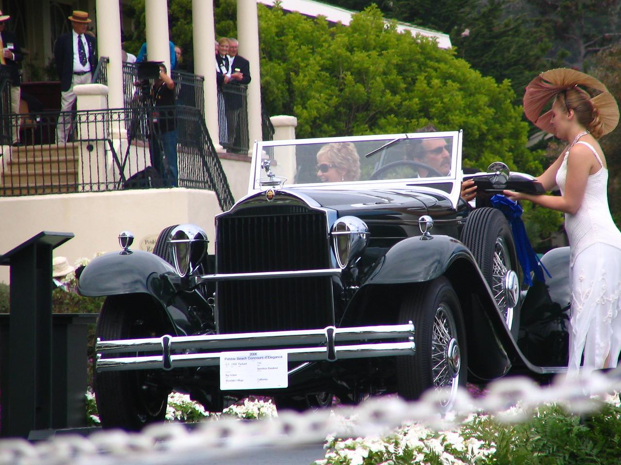 Class C-1, American Classic Open 1925-1931, Winner -- 1930 Packard 734 Speedster Runabout