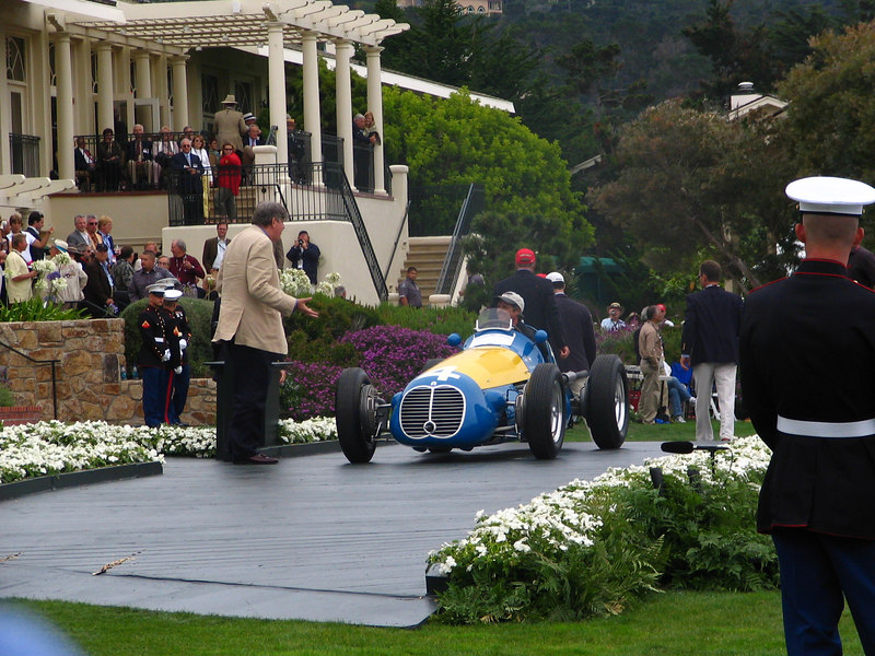 Tony Hulman Trophy sponsored by Indianapolis Motor Speedway Winner -- 1949 Maserati 4CLT/48 Monoposto