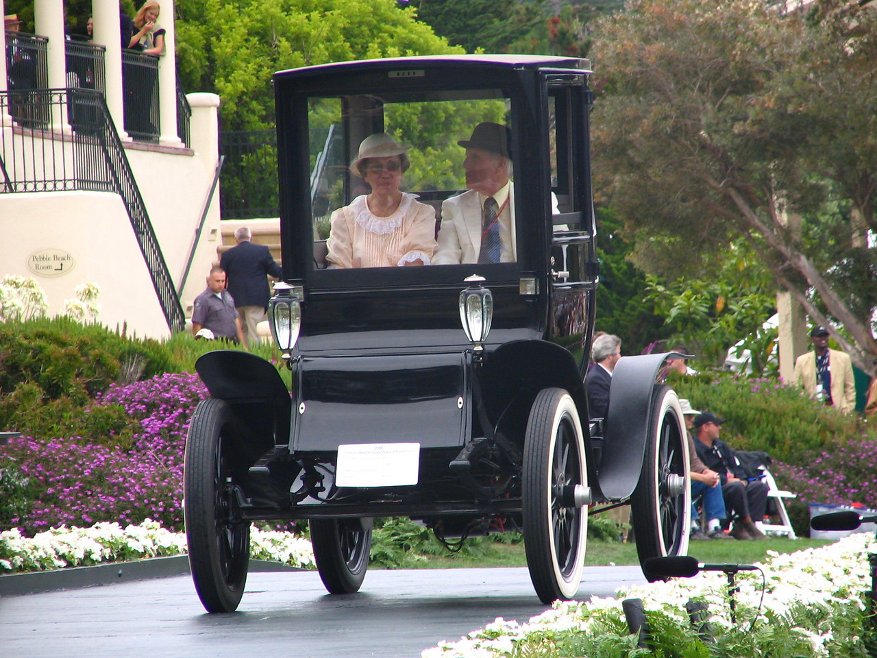 Charles A. Chayne Trophy Winner -- 1913 Waverley Electric 93 Coupe