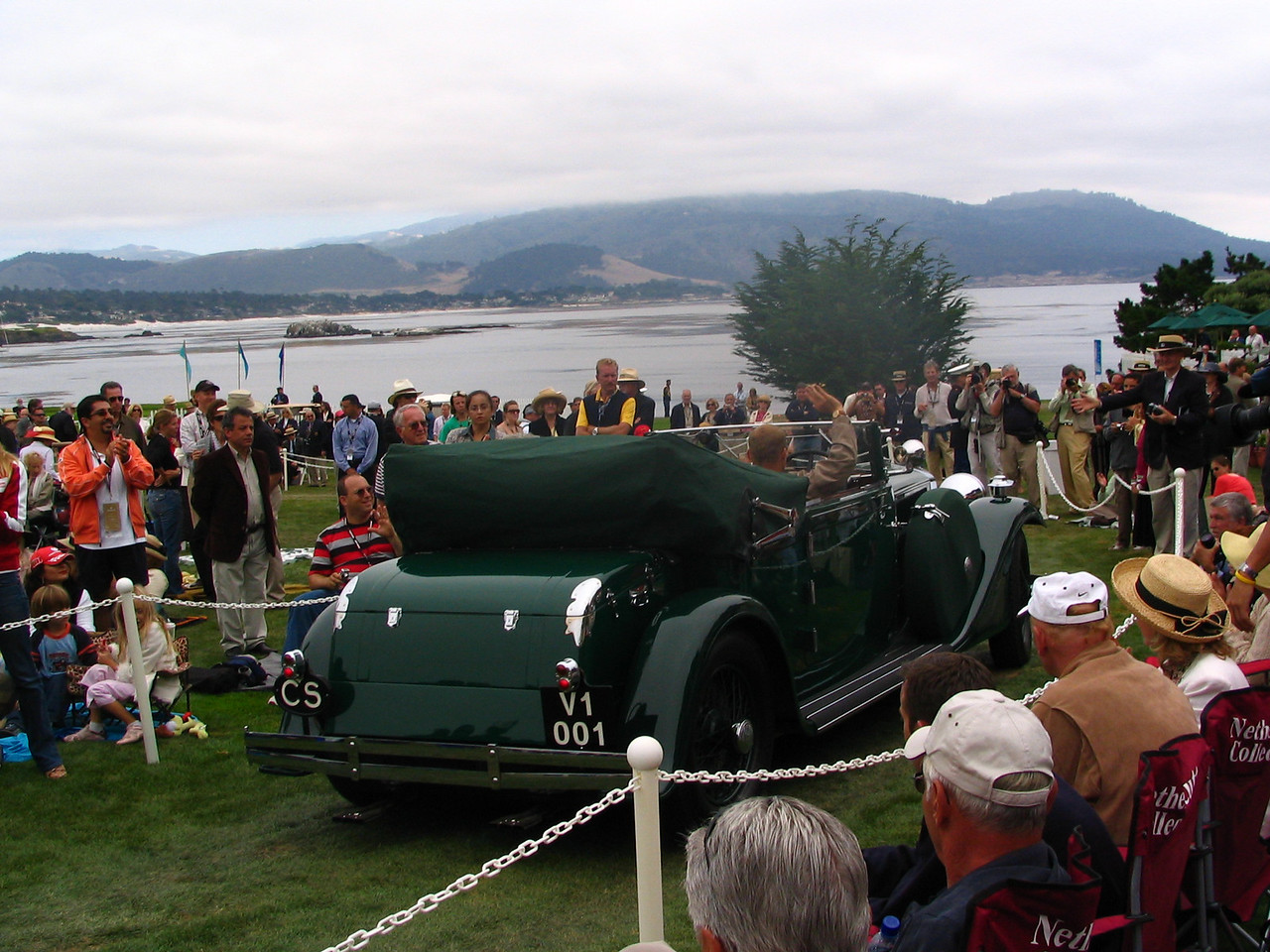 Chairman's Trophy Winner -- 1932 Tatra 80 Cabriolet owned by Evzen Majoros from Prague, Czech Republic