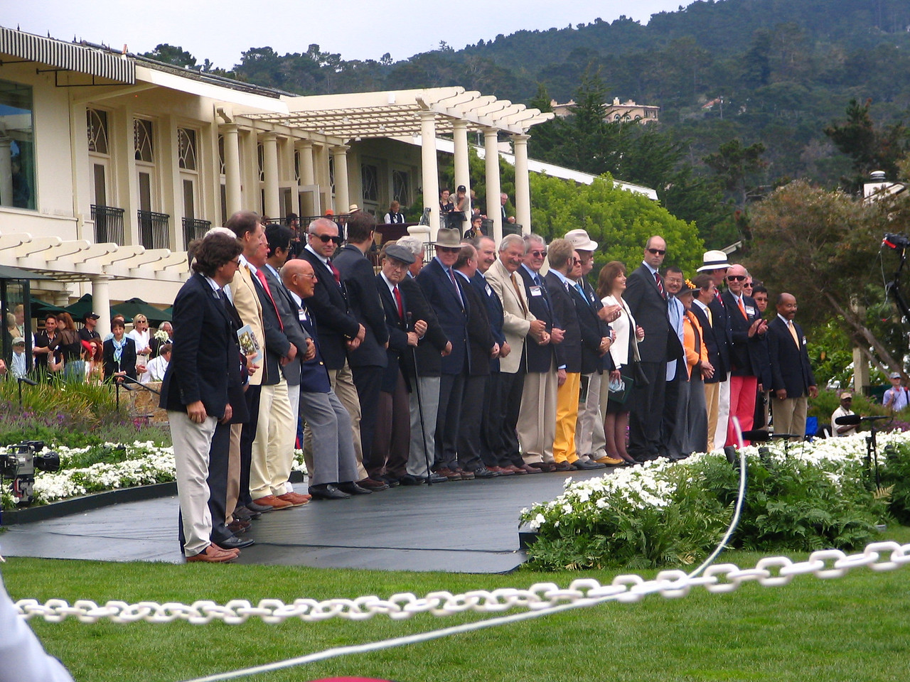 Pebble Beach Concours Honorary Judges