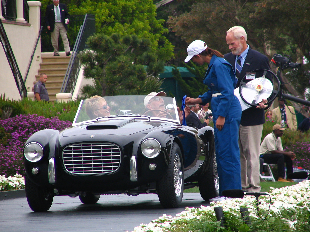 Road & Track Trophy Winner -- 1953 Siata 208S Roadster