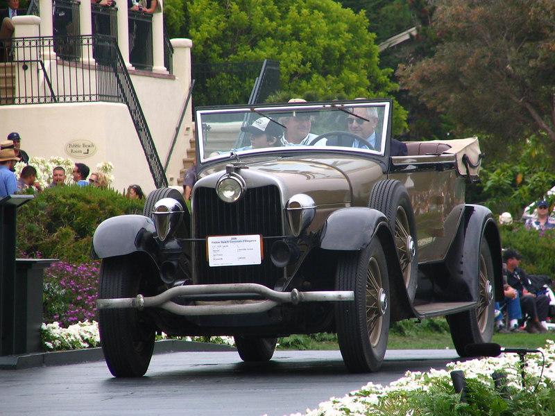 Lincoln Trophy Winner -- 1930 Lincoln L Dietrich Convertible Victoria