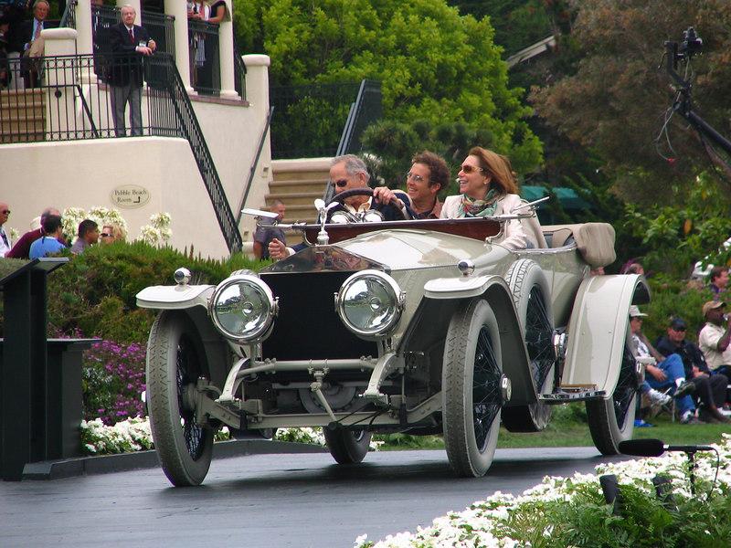 Lucius Beebe Trophy sponsored by Rolls-Royce Winner -- 1913 Rolls-Royce Silver Ghost Cann London to Edinburgh Tourer