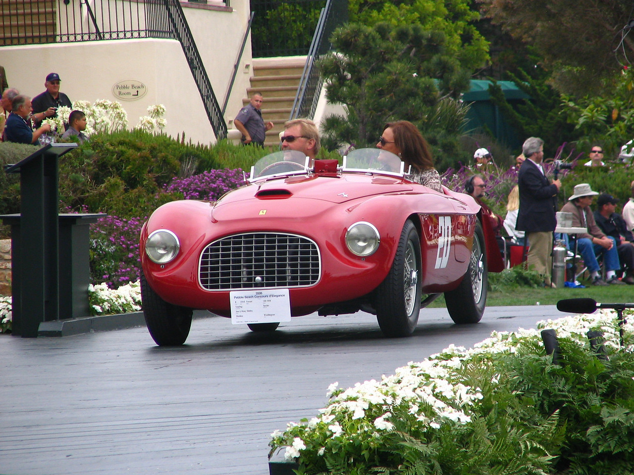 Art Center College of Design Award Winner -- 1949 Ferrari 166 MM Touring Spyder