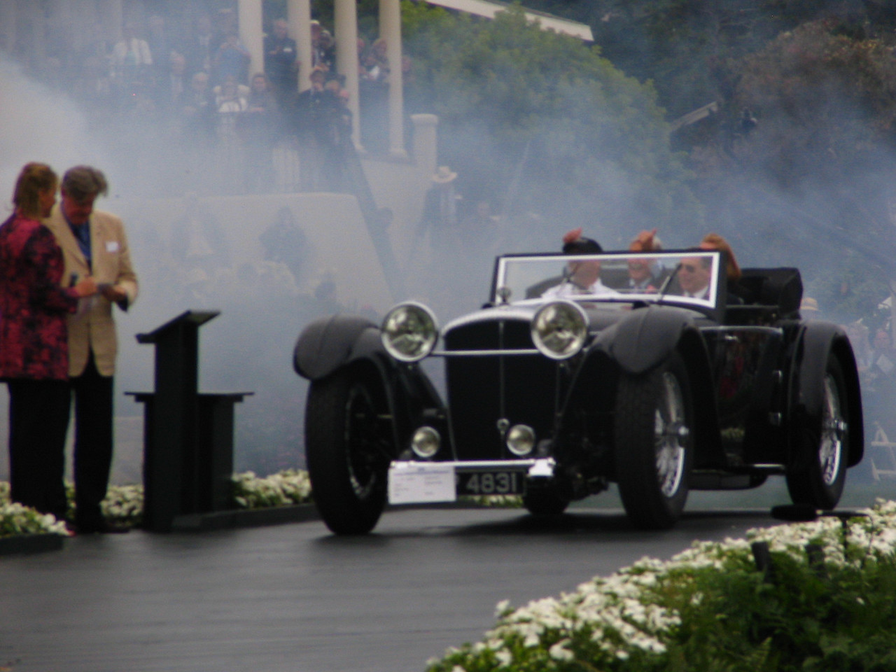 Best of Show sponsored by Champagne Louis Roederer, The Elegant Set–Lalique, A Diamond is Forever & Molina Fine Jewelers -- 1931 Daimler Double-Six 50 Corsica Drophead Coupe