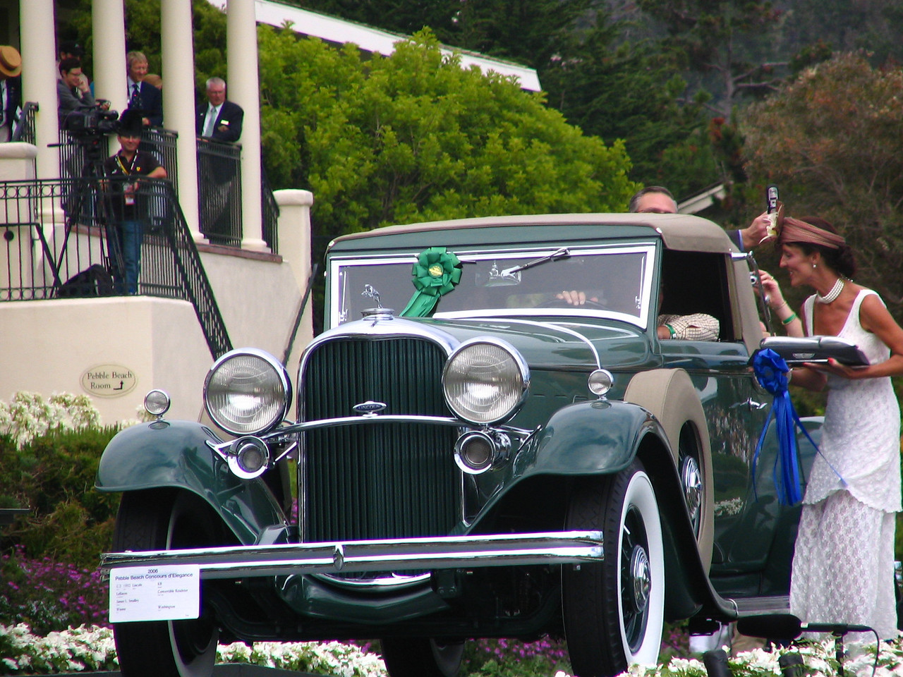 Class C-2, American Classic Open 1932-1941, Winner -- 1932 Lincoln KB LeBaron Convertible Roadster