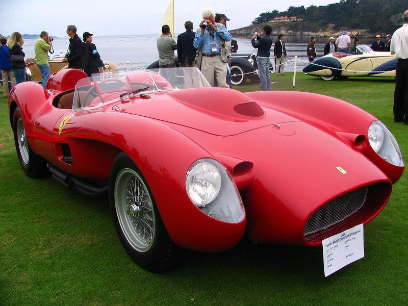 Class M-2, Ferrari Competition, Winner -- 1957 Ferrari 250 Testa Rossa Scaglietti Spyder
