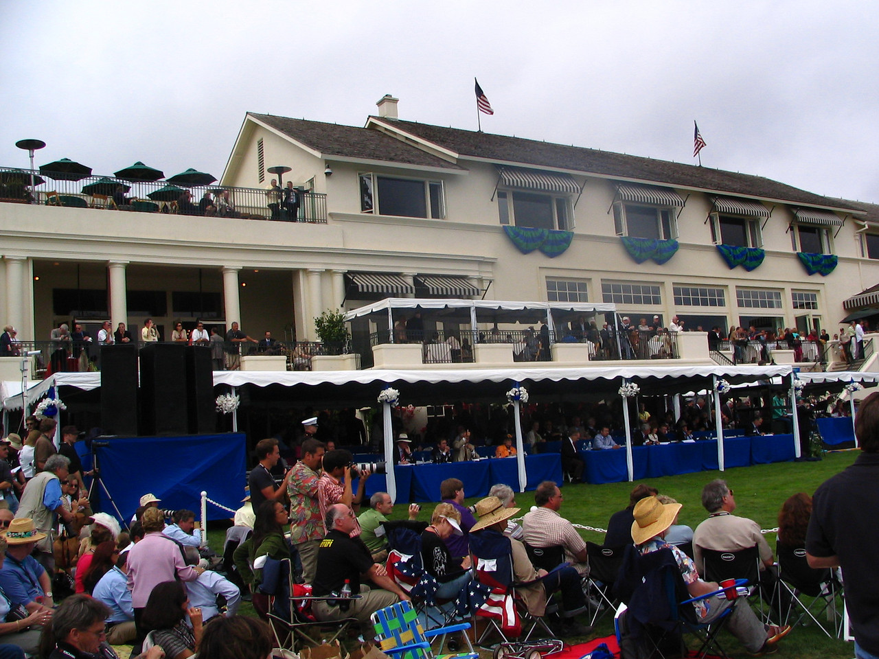 Pebble Beach Concours Honorary Judges and The Lodge at Pebble Beach