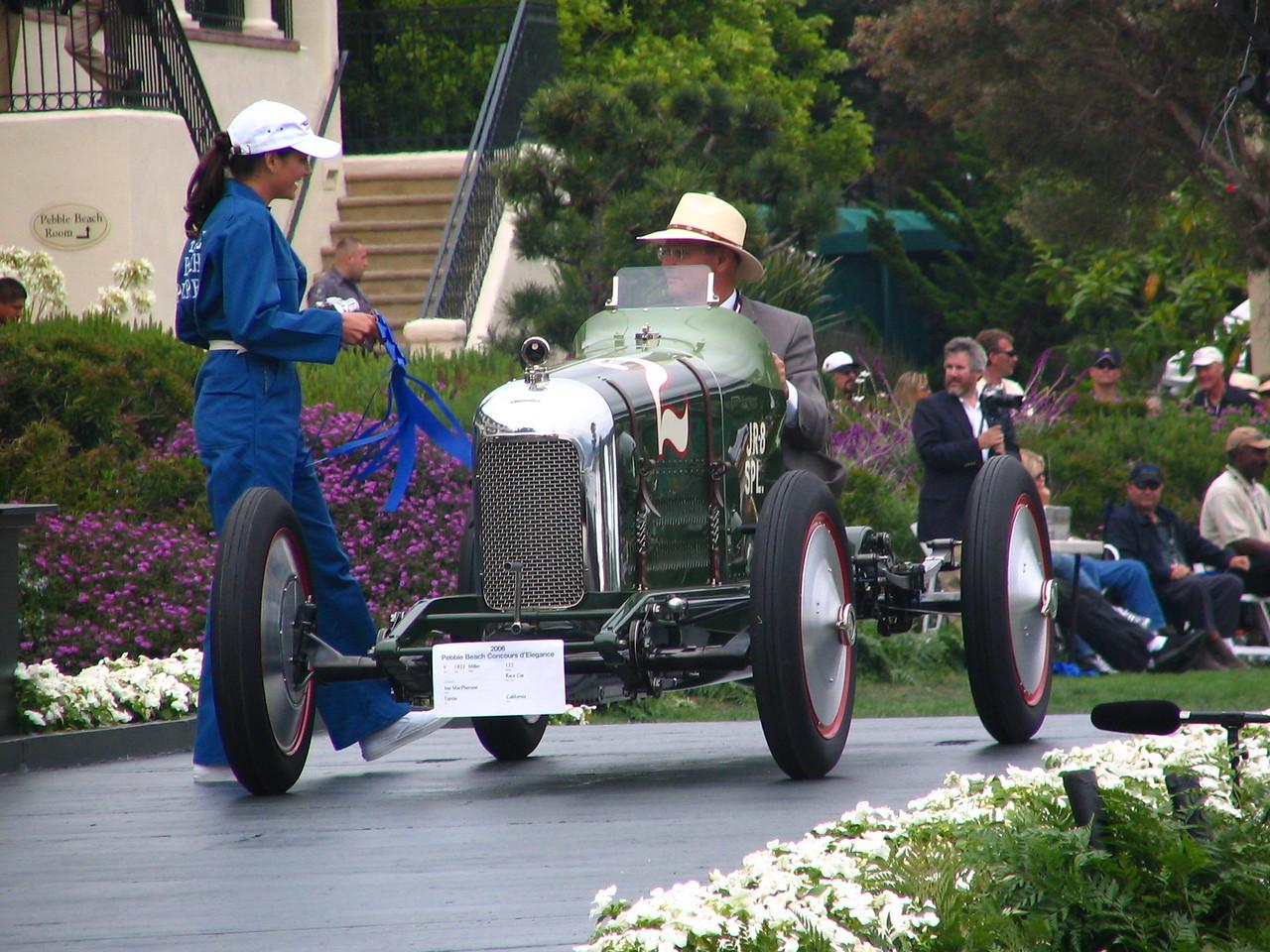 Class V, Open Wheel Race Cars, Winner -- 1923 Miller 122 Race Car