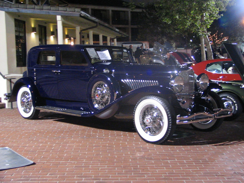 Duesenberg Model J Sport Berline body by Murphy