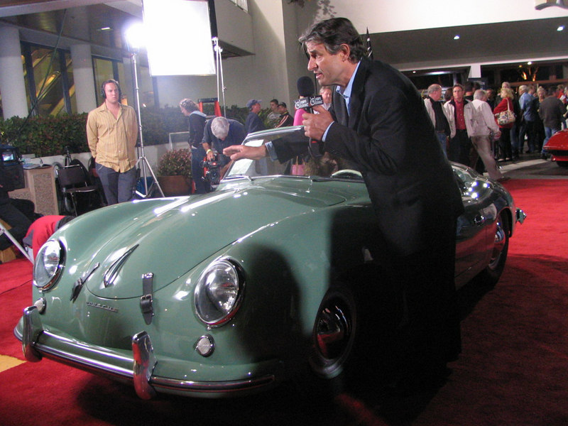 Porsche 356 America Roadster. I thought I would never see the day where a 356 was advertised for six-figures. This car was the first official Porsche race entry in America (Albany, Georgia). It did not sell, however, with a high bid of $700,000.