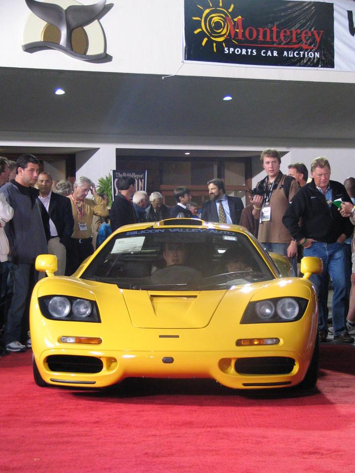 McLaren F1. Sold at $1.55 million.