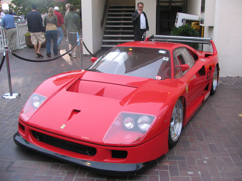 Ferrari F40 Michelotto. One of 5 cars converted by Michelotto in 1992 for IMSA racing. 1994 Italian Supercar GT Champion.