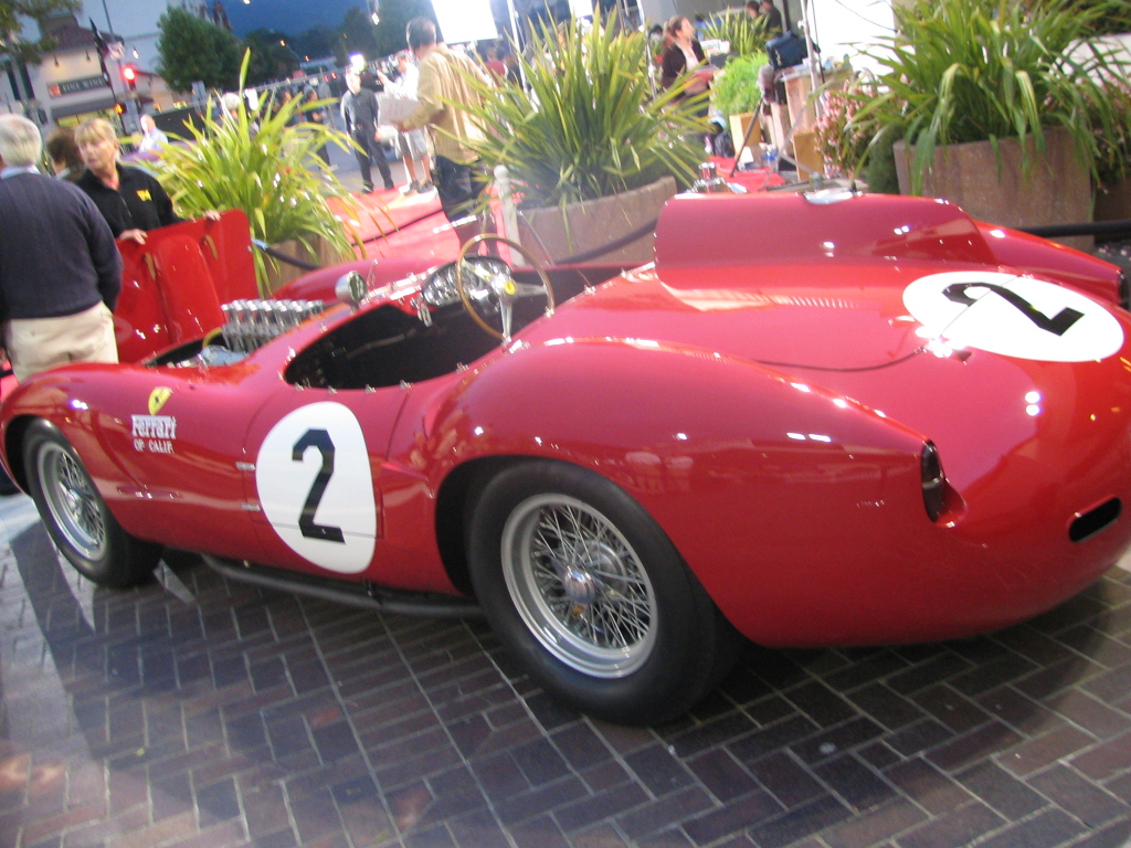 Ferrari 412S. The star of the show, sold at $5.6 million.