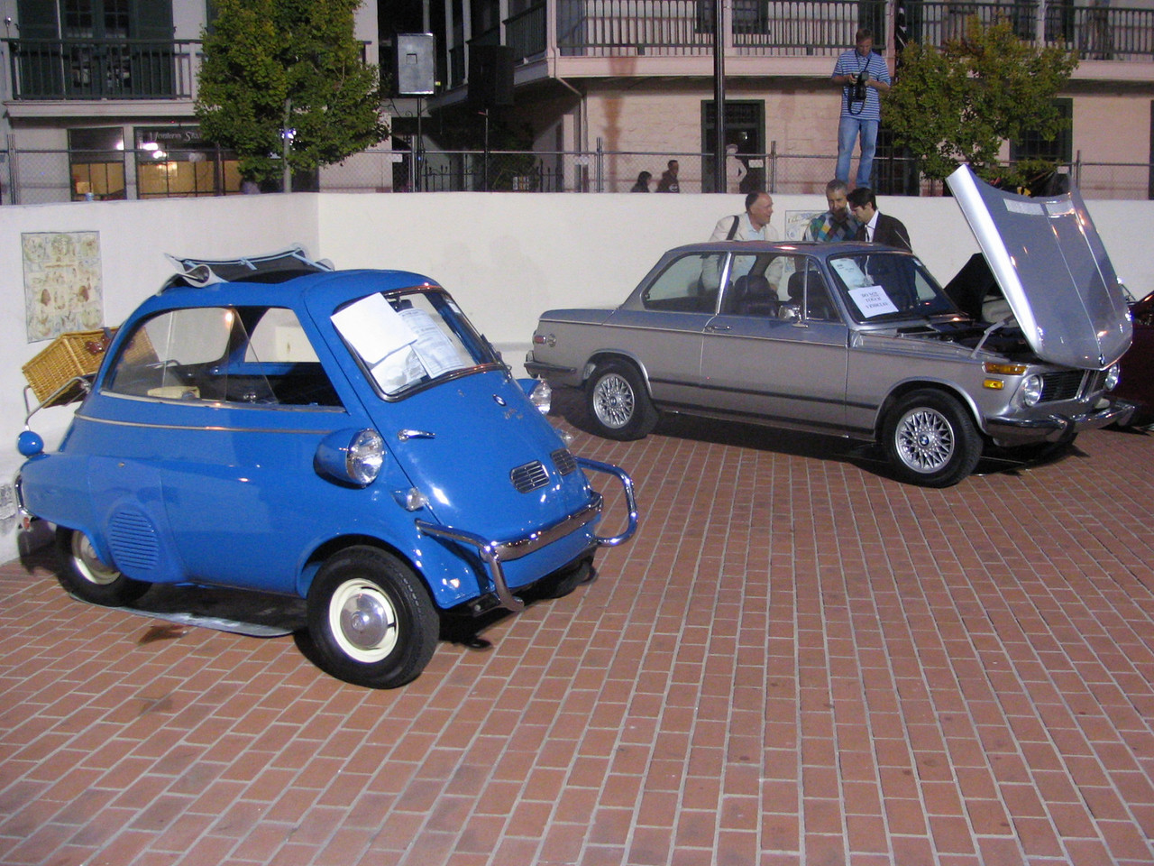 BMW-Isetta and 2002tii