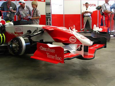 Toyota Formula One car