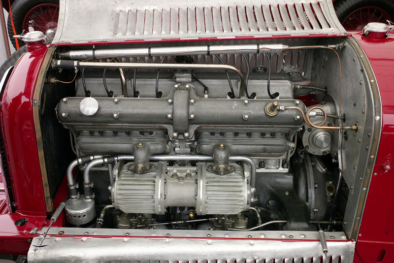 love the 8C motor