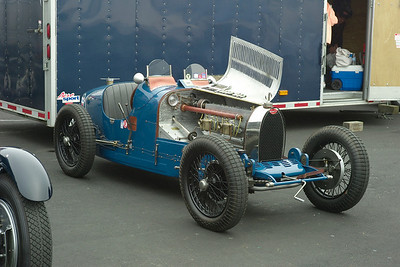 lovely t. 35 Bugatti at Laguna