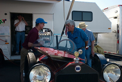 Jay Leno in conversation about the Lambda motor in Ford chassis.