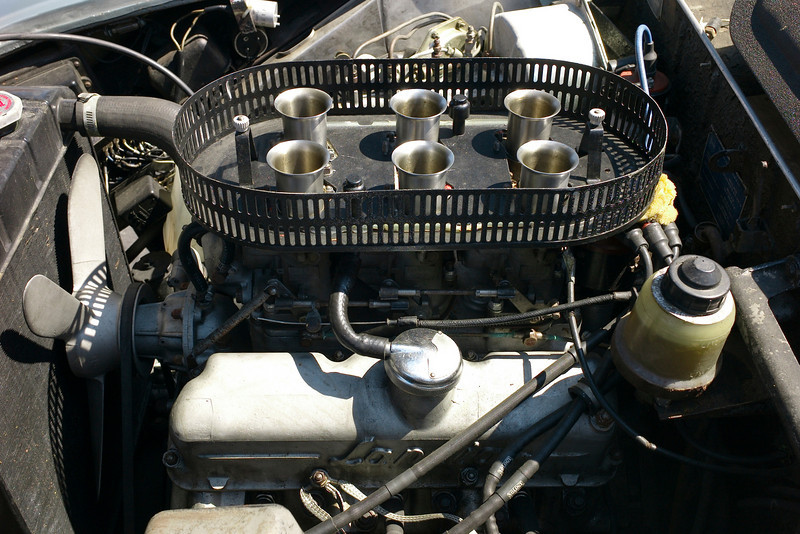 Zagato 3 carbs... early version
