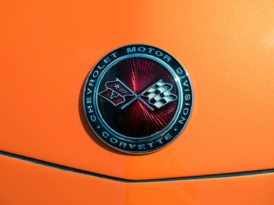 1974 Cevrolet Corvette Stingray Bonnet Badge