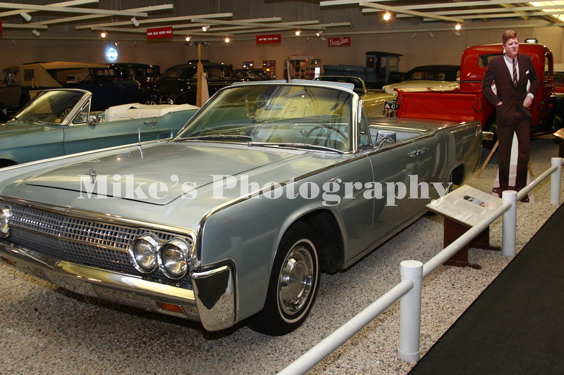 President John F Kennedy's personal Lincoln.