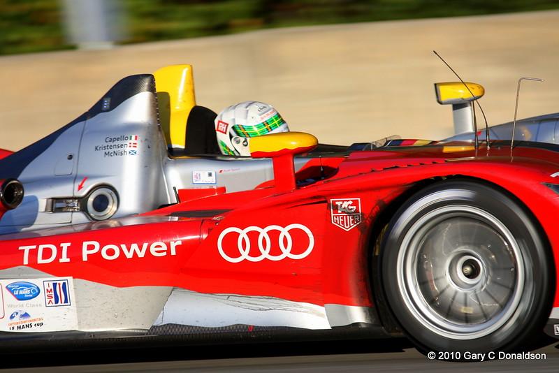Driven by: Allan McNish (GB, pictured)/Tom Kristensen (DK)/Rinaldo Capello (I); S4,F3