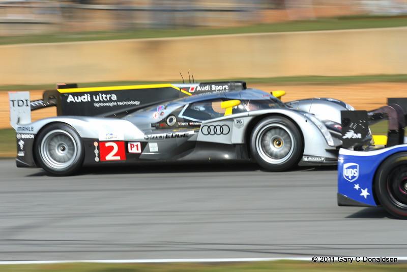 PLM-2011, Fri; Driven by: Tom Kristensen (DK)/Allan McNish (GB; pictured)/Rinaldo Capello (I)