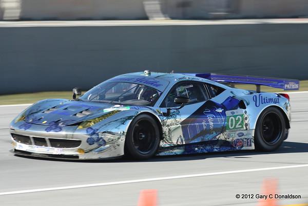 Petit Le Mans 2012, Race Day
