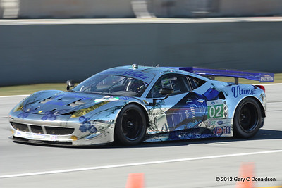 Petit Le Mans 2012, Race Day