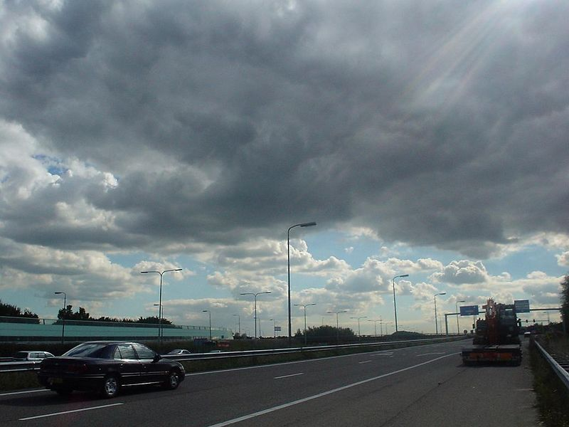In the mean while, really pretty clouds :)