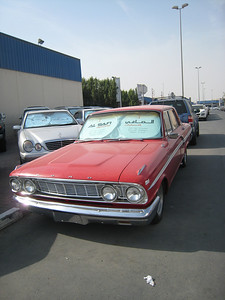 And one for Rae and Brad.  After January 2009 the Dubai Government will no longer register cars more than 20 years old.