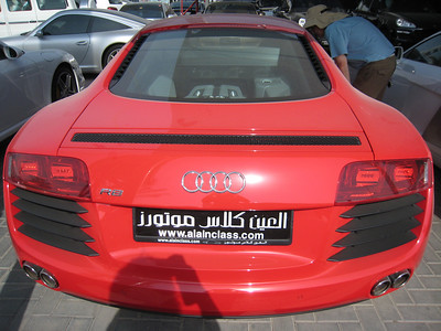 Red R8 (just for change)