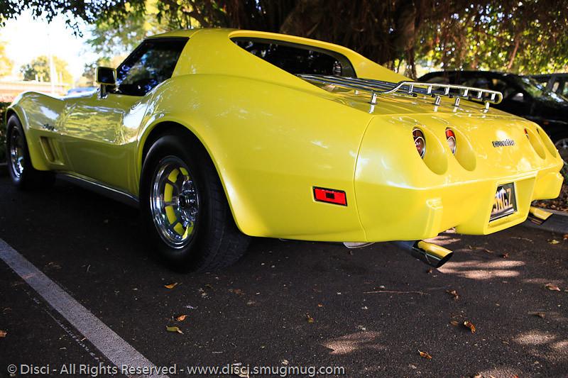 Corvette - Hervey Bay, Queensland, June 2010.