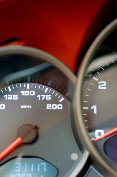 Porsche Speedometer