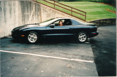 My new Firebird in Saint Louis, MO - May 2002.
