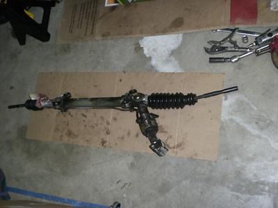 928 S4 Steering Rack Rebuild