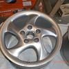 Rear wheel.